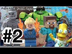 #2 Lego City Quarteto Fantástico Homem Aranha Hulk Bart Simpsons Minecra... #homemaranha #aranha #spider #spiderman #eterparker #avengers #vingadores #toys #toys #おもちゃ #barbie #dolls #doll #kids #kids  #puppet #babyalive #lego #imaginext #marvel #DC #Comics #escola #school #educação #education #kid #kids #lol
