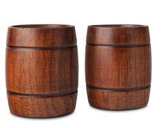 Two-Piece Barrel Tumbler Set Buy Wood, Commercial Kitchen, Discount Designer, Stocking Stuffers, Tumbler, Barrel, Product Launch, Stockings