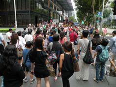 Walking in #Singapore