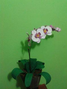 Orquídea em e.v.a