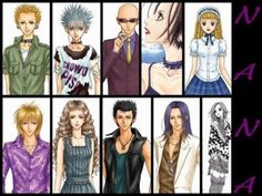 Nana (one of my all time fav. anime EVER) I Love Anime, Awesome Anime, All Anime, Manga Art, Manga Anime, Watch Manga, Nana Manga, Different Emotions, Comic Games