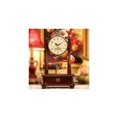 置き時計 旧式の置き時計&振り子時計