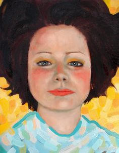 Ryan Pickart is a painter from Lowell, IN. His work features portraits in oil bridging the gap between. Cindy Sherman, Abstract Portrait, Abstract Art, Mixed Media Artists, Figure Painting, Face Art, Art Google, Art World, Great Artists