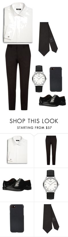"""#4 men"" by susan-michelle-tavares on Polyvore featuring Saks Fifth Avenue, BOSS Hugo Boss, Massimo Matteo, Montblanc, Shinola, Gucci, men's fashion y menswear"