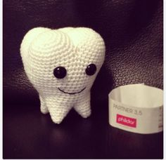 Crocheted Tooth! - For Sammy