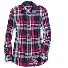 Tommy Hilfiger Plaid Tunic ($40) ❤ liked on Polyvore featuring tops, tunics, tommy hilfiger, blue tunic, tommy hilfiger tops, plaid top and tartan top