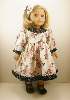 18 American Girl Doll Clothes Long Sleeved by dressurdolly2