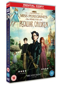 From visionary director Tim Burton, and based upon the best-selling novel. When his beloved grandfather leaves Jake clues to a mystery that spans different worlds and times, he finds a magical place known as Miss Peregrine's Home for Peculiar Children.