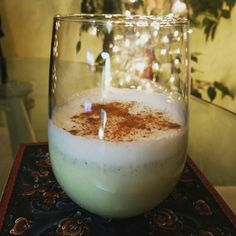 Homemade Eggnog with