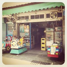Old store / Tainan, Taiwan 120523