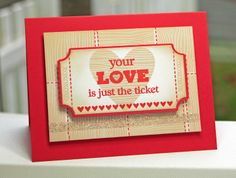 Love's the Ticket, Wood You Be Mine?, Ticket Note - Lisa Johnson #mftstamps