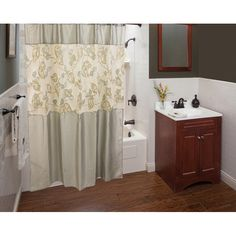 Sherry Kline Paradisio Shower Curtain with Hooks Set - Overstock™ Shopping - Great Deals on Sherry Kline Shower Curtains