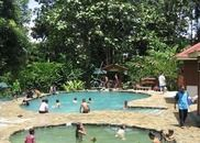 Poring Hot Spring in Kota Kinabalu is a popular spot to soak up the natural minerals on the island of Borneo.