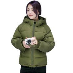 26.40$  Watch now - https://alitems.com/g/1e8d114494b01f4c715516525dc3e8/?i=5&ulp=https%3A%2F%2Fwww.aliexpress.com%2Fitem%2FWinter-Fashion-Women-Jackets-2016-New-Short-Cotton-Padded-Pink-Coats-Thick-Warm-Hooded-Loose-Padded%2F32769521259.html - Winter Fashion Women Jackets 2016 New Short Cotton Padded Pink Coats Thick Warm Hooded Loose Padded Parkas Casaco Feminino W291