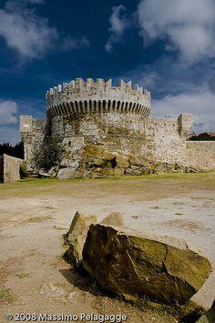 Populonia il castello  Italy