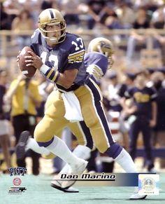 53a89e7ab1 Dan Marino Pittsburgh Panthers 8X10 Photo
