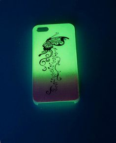 Glow In The Dark Phone Case iPhone 5 case by UptownGirlFashion