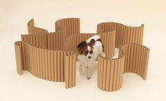Arquitetos criam peças para cachorros (Foto: Hiroshi Yoda)