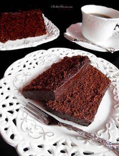 Słodka Strona: Najlepszy i Najprostszy Murzynek Polish Desserts, Polish Recipes, I Love Food, Good Food, Yummy Food, Food L, Love Cake, Cake Cookies, Amazing Cakes