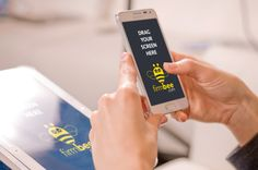 Samsung on firmbee.com. #free #psd #digital #design #mockup #business #mobile #android #Samsung Galaxy Alfa #Samsung Galaxy Tab 4 #woman #