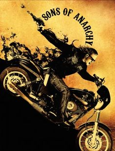 Sons Of Anarchy, I can't get enough of this show. Even if all it is, is a manly soap opera.