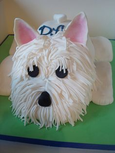 Westie cake