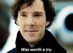 *spoilers* was worth a try #sherlock #his last vow
