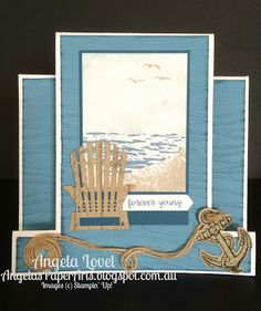 Angela's PaperArts: Forever young centre step card