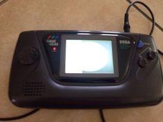 Sega Game Gear Black Handheld System Broken Screen And Repair Only - http://video-games.goshoppins.com/video-game-consoles/sega-game-gear-black-handheld-system-broken-screen-and-repair-only/