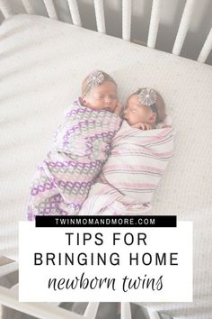 Bringing home twin can be daunting. Here are 5 tips to help you survive life wit… Bringing home twin can be daunting. Here are 5 tips to help you survive life with newborn twins! Breastfeeding Twins, Expecting Twins, Newborn Twins, Baby Twins, Mom Of Twins, Pregnant With Twins, Boy Girl Twins, Newborn Care, Triplets