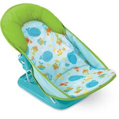 Summer Infant - Mother's Touch Deluxe Baby Bather, Submarine, Blue