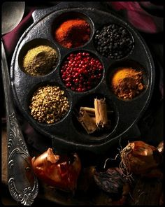 looking for rainbows in the moonlight — mistymorrning: spices from around the world…