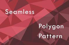 Photoshopでシームレスなポリゴンデザインのパターン素材を作成する方法