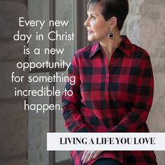 Joyce Meyer Quote - For more encouragement like this check out Joyce's book, Living a Life You Love