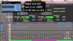 Auxes, Buses and Sends - Effects -  Logic Pro X
