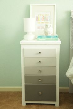 Ombre Nightstand by Lovely Interiors