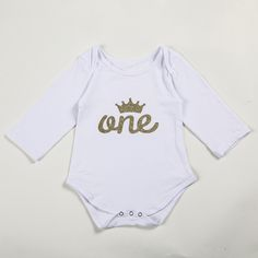 >> Click to Buy << First birthday bodysuit,personalized name baby custom handmade bodysuit,Gold Glitter Shirt Baby girl clothes,Baby shower gift #Affiliate