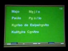 Curso de Esperanto   Vídeo Aula # 1
