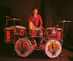 The Who's Keith Moon the Loon The Jackson Pollock of DRUMS