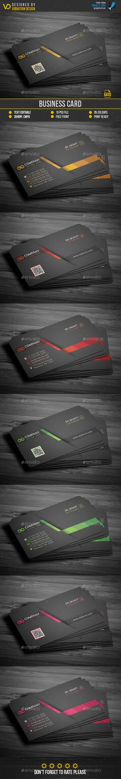 #Business Card - Business Cards Print Templates Download here: https://graphicriver.net/item/business-card/18301592?ref=classicdesignp