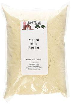 Malted Milk Powder, 1 lb. *** You can get more details by clicking on the image.