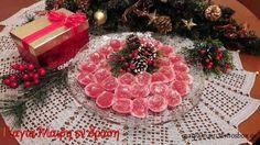 Home Made Candy, Christmas Wreaths, Christmas Tree, Tree Skirts, Sweets, Homemade, Holiday Decor, Greek, Teal Christmas Tree