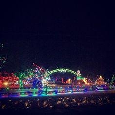 Irvine Park Christmas Village   via urban_wilderness Instagram #Chippewafalls