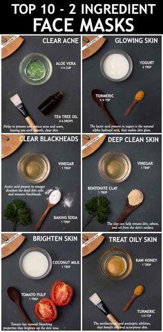 Clear Skin Face Mask, Face Skin Care, Diy Skin Care, Face Masks, Clear Face, Face Face, Beauty Tips For Glowing Skin, Clear Skin Tips, Beauty Skin