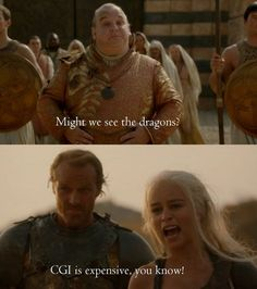Daenerys from Game of Thrones explains why Qarth can't see the dragons