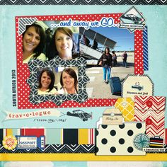 All Scrapbook Steals - The Blog: Fancy Pants Nautical Layout
