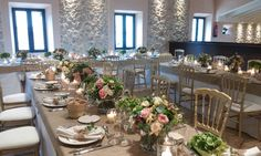 Indoor celebrations at Son Berga. Finca Son Berga Majorca Weddings