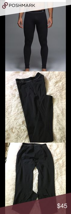 🍋Lululemon Men's Metal Vent Tech Thermal tight 🍋 🍋Lululemon Silverescent odor fighting Technology. You can feel free to sweat up a storm sans the stick base layer. 9 Best Thermal Pants 2017 - Thermal Pants and Leggings for Men like new prince is negotiable bundle and save🍋 lululemon athletica Pants Sweatpants & Joggers