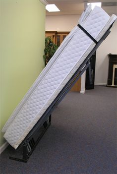 "Murphy Bed Frames - I've always wanted a Murphy Bed for the kids room.  Fold up during the day, leaving the room for more ""play area""."