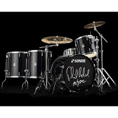 Sonor Phil Rudd signature...